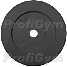 Диск «Антат» тренировочный обрезиненный 15 кг