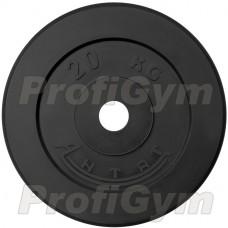 Диск «Антат» тренировочный обрезиненный 20 кг