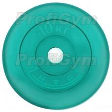 Диск «Антат» цветной обрезиненный 10 кг