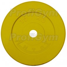 Диск «Антат» цветной обрезиненный 15 кг