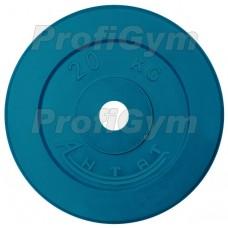 Диск «Антат» цветной обрезиненный 20 кг