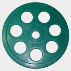 "Олимпийский диск евро-классик с хватом ""Ромашка"", 10 кг."